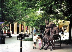 The Hare and the Minotaur Statue